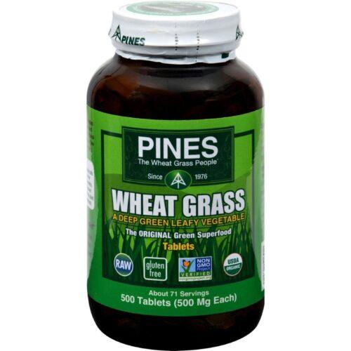 HG0716027 500 mg Wheat Grass - 500 Tablets