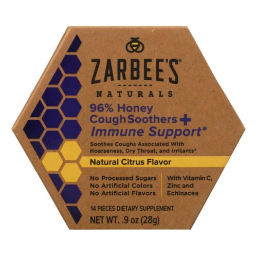 HG2337848 0.9 fl oz Naturals 96 Percentage Honey Cough Soothers & Immune Support Dietary Supplement
