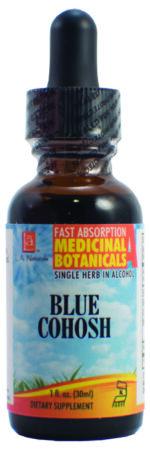 LA Naturals 1133801 1 oz Blue Cohosh Organic Liquid