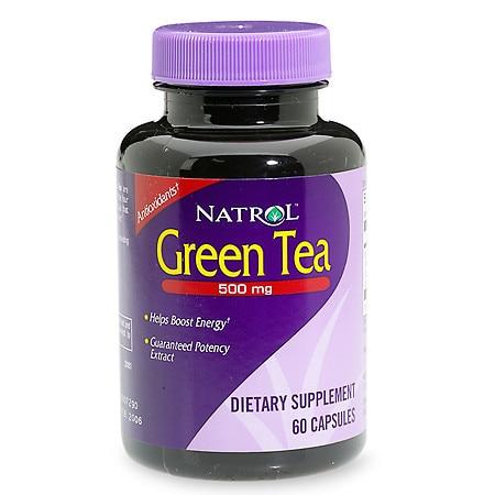 Natrol Green Tea 500 mg Dietary Supplement Capsules - 60.0 ea