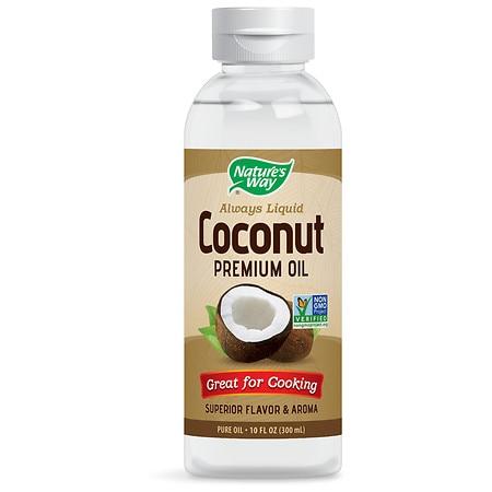 Nature's Way Liquid Coconut Premium Oil - 10.0 fl oz