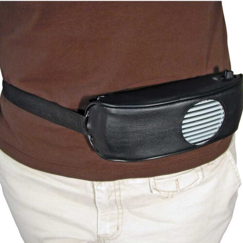Voice Amplifier Leather Waist Pack