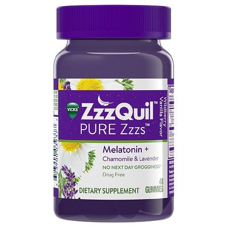 ZzzQuil Gummies Wildberry Vanilla - 48.0 ea