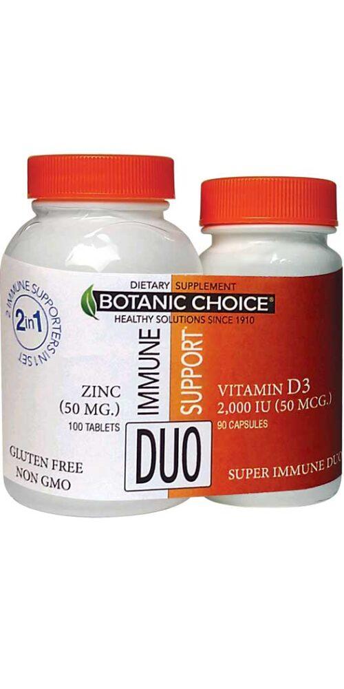 Botanic Choice Super Immune Duo - 190 Count