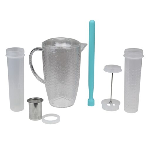 33537529 2 ltr 4-in-1 Flavor Infuser Pitcher - 9.5 in.