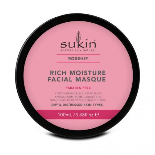 455790 3.38 oz Rosehip Facial Rich Moisture Masque