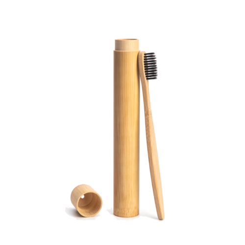 5646785643 Bamboo Toothbrush Case