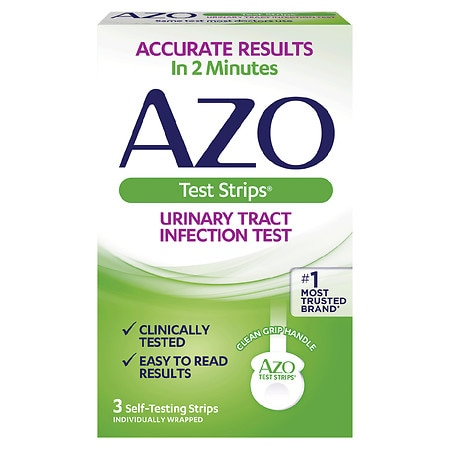 AZO Urinary Tract Infection (UTI) Test Strips - 3.0 EA