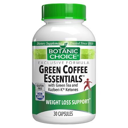 Botanic Choice Green Coffee Essentials - 30.0 ea