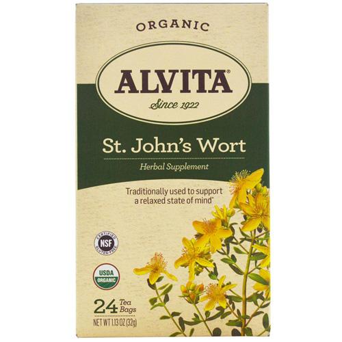ECW1543701 Tea Organic St Johns Wort Herbal