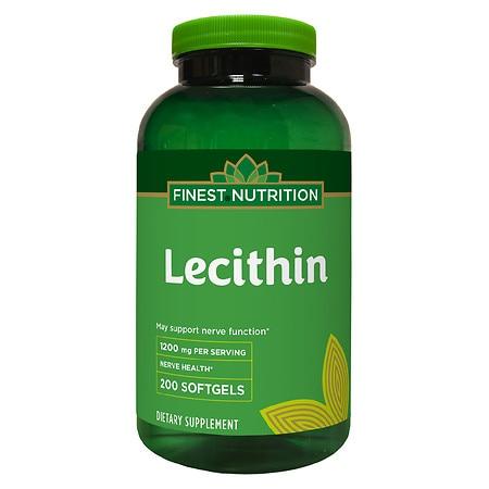 Finest Nutrition Lecithin 1200 milligrams - 200.0 ea