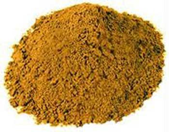 H16SANYP 1oz Sandalwood Powder Yellow - Santalum