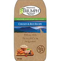 -Triumph Chicken And Rice Dog Food 30 Pounds 00875