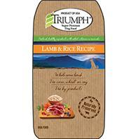 -Triumph Lamb And Rice Dry Dog Food 28 Pounds 00881